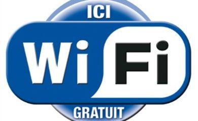 Logo wifi gratuit pour image à la une