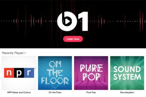 Radio Beats 1 itunes