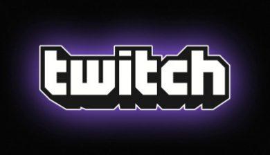 Interface Twitch tv pour image à la une