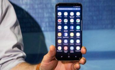 Configurer le samsung Galaxy S8