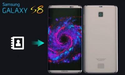 Samsung Galaxy S8 Utiliser Lapplication Contacts