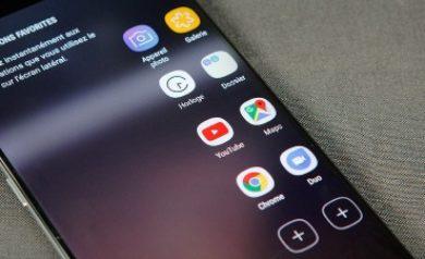 image représentant le volet latéral du Galaxy S8