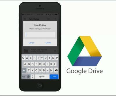 appli google drive pour smartphone