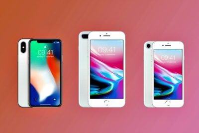 Apple iPhone 8, 8 Plus et iPhone X