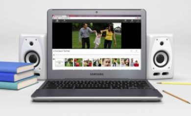 Chromebook pour image à la une
