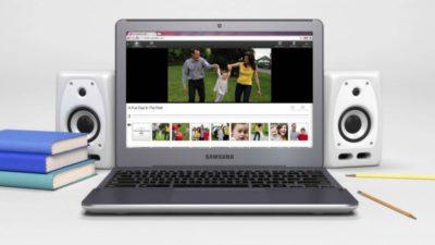 Chromebook pour le multimedia