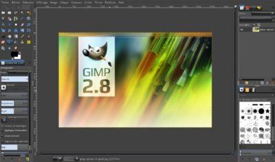 Image du logiciel Gimp-2.8