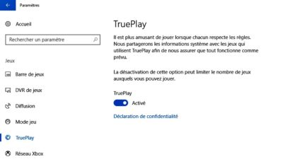 La fonction TruePlay permet de détecter les tricheurs