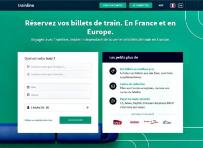 Application Trainline Eu