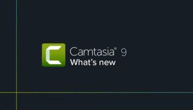 Logo du logiciel camtasia 9