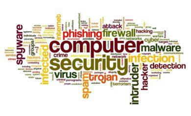 image montrant les virus et malwares