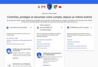 protéger son compte Google