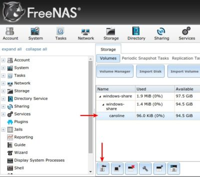 create-dataset freenas