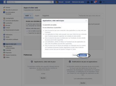 verrouiller des données sensibles sur Facebook