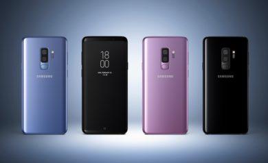 Différents Galaxy-S9 pour image à la une