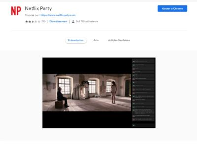 extension netflix party pour google chrome