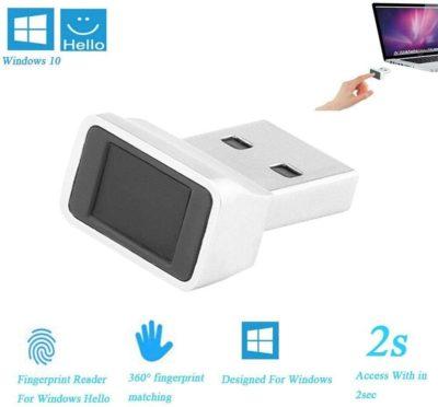 Onever Lecteurs d'empreintes digitales USB Smart