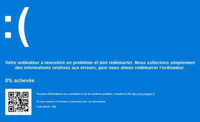 Blue Screen Windows