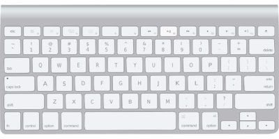 Image représentant un clavier Mac Os
